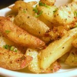 <!--:ro-->Cartofi crocanti cu usturoi la cuptor<!--:-->