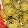 Ingrediente: -500 g cartofi -o legatura de marar -3-4 catei de usturoi -50 g unt -sare Cum pregatim: 1.Cartofii se spala bine, si se fierb in coaja 15-25 minute(depinde de […]