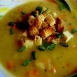 Delicioasa supa-crema de mazare uscata