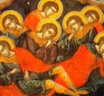 Acesti sfinti au fost în zilele împaratului Deciu; si s-au sfatuit si si-au împartit averea la saraci si au intrat într-o pestera; si rugîndu-se lui Dumnezeu, sa le ia […]