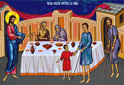 Imagini pentru pilda celor poftiti la cina