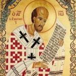 Sfantul Ioan Gura de Aur; Lasatul secului pentru Postul Craciunului