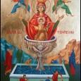 Preacurata, preanevinovata, preamilostiva, prealaudata, pururea Fecioara Nascatoare de Dumnezeu Marie,izvor al dumnezeiestii tamaduiri, grabnic ascultatoare si eliberatoare,aparatoare nebiruita a crestinilor, mijlocitoare statornica catre facatorul, nadejdea, acoperamantul si ajutorul celor ce […]