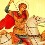 Marele Gheorghe, sfântul martir purtător de biruinţă (video)
