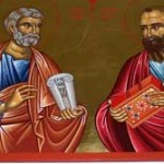 Sfintii Slavitii Apostoli Petru si Pavel  (video)