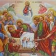 Când a binevoit Hristos Dumnezeul nostru ca să ia pe Maica Sa la Sine, atunci cu trei zile mai înainte a făcut-o să cunoască, prin mijlocirea îngerului, mutarea sa cea […]