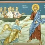 Duminica a 9-a dupa Rusalii  – Umblarea pe mare – potolirea furtunii -
