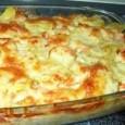 Ingrediente: -400g paste -3 ouă -500g brânză dulce -200 g branza oi -2linguri smântână -1plic zahăr vanilat -100g unt -2linguri zahăr -1 lingura zahar, sare Cum pregatim: 1. Se fierb […]