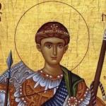 Sfantul Mare Mucenic Dimitrie, Izvoratorul de Mir