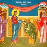 Duminica a 27-a după Rusalii (Vindecarea femeii gârbove)