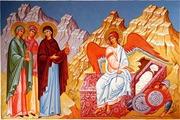 """""""Duminica de astazi ne aduce inainte exemplul sfintelor femei mironosite, din care invatam ca la biserica trebuie sa venim devreme. Ele au venit primele, dis-de-dimineata, la Mormantul Domnului, si au […]"""