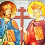Sfintii Imparati Constantin si Elena (video)