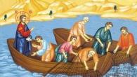 In vremea aceea, Iisus sedea langa lacul Ghenizaret si a vazut doua corabii oprite langa tarm, iar pescarii, coborand din ele, spalau mrejele. Atunci El, urcandu-Se intr-una din corabii, care […]