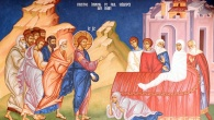 Evanghelia Învierii fiului văduvei din Nain este o parabolă tulburătoare despre viaţă şi moarte, despre nimicnicia acestei vieţi şi despre infinitul iubirii lui Dumnezeu pentru noi, despre trupul supus stricăciunii […]