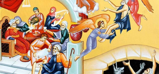Zis-a Domnul: Era un om bogat care se îmbrăca în porfiră şi în vison, veselindu-se în toate zilele în chip strălucit. Iar un sărac, anume Lazăr, zăcea înaintea […]