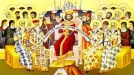 În vremea aceea Iisus, ridicându-Şi ochii către cer, a zis: Părinte, a venit ceasul! Preaslăveşte pe Fiul Tău, ca şi Fiul să Te preaslăvească, precum I-ai dat stăpânire peste […]