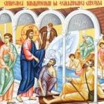 Duminica a IV-a după Paști (a slăbănogului de la Vitezda)