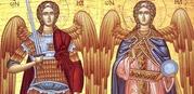 Pe 8 noiembrie sunt praznuitiSfintii Arhangheli Mihail si Gavriil, impreuna cu soborul tuturor puterilor ceresti. Astfel, ziua de 8 noiembrie este inchinata tuturor cetelor netrupesti. Sarbatoarea de pe 8 noiembrie […]