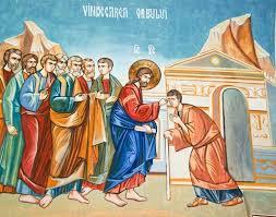În vremea aceea, pe când se apropia Iisus de Ierihon, un om ședea lângă drum, cerșind. Și auzind el mulțimea care trecea, întreba ce se întâmplă. Și i-au spus […]