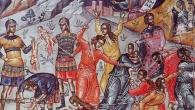 Irod, împăratul iudeilor, văzând că a fost înşelat de magii care s-au întors în ţara lor pe altă cale, s-a mâniat, şi cercetând cu de-amănuntul vremea când s-a arătat steaua, […]