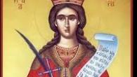 Sfanta Mare Mucenita Varvaraa trait in vremea imparatului Maximian (305-311), fiica unui oarecare Dioscor, elin de la rasarit. Ea era pazita de tatal sau intr-un turn, inalt, pentru frumusetea cea […]