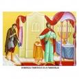 """Pilda Vameşului şi a Fariseului este precedată de pilda despre văduva stăruitoare (Luca 18, 1-8), caexemplu de dăruire în rugăciune, şi de cutremurătoarea întrebare: """"Oare, când va veni Fiul Omului, […]"""