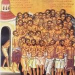 Sfintii 40 de Mucenici si cununile_medie