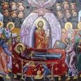 """Icoana ,,Adormirea Maicii Domnului"""" are un bogat și adînc sens duhovnicesc, revelator pentru fiecare din noi.În ea putem vedea adormirea, îngroparea, învierea și înălțarea Maicii Domnului, trepte prin care putem […]"""