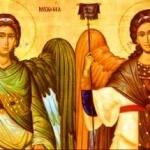 Sfintii Arhangheli  Mihail si Gavriil sarbatoriti la 8 noiembrie (video)