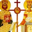 Sfantul Constantina fost fiul imparatului Constantius Chlorus si al Elenei. S-a nascut la 27 februarie 272, in cetatea Naissus (astazi, Nis, in Serbia). Dupa moartea tatalui sau din 304, […]