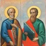 Sarbatoarea Sfinţii Apostoli Petru şi Pavel