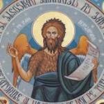 De ce este pictat Sfântul Ioan Botezătorul cu aripi?