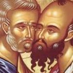 Acatistul Sfinţilor Apostoli Petru şi Pavel (video si textul)