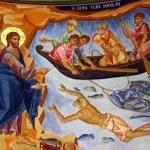 Pe când mulțimea Îl îmbulzea ca să asculte cuvântul lui Dumnezeu (Luca 5, 1-11)