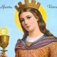 Pe Sfânta Varvara să o cinstim, că a sfărâmat cursele vrăjmaşului şi ca o vrăbioară s-a izbăvit din ele, cu ajutorul armei crucii, preacinstită. Condacul 1 Ţie, celei alese de […]