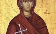Sfanta Filoteia din Atena este praznuita pe 19 februarie. Sfânta Maică Muceniţă Filoteia s-a născut în Atena în anul 1522. Părinţii ei, Syriga şi Angelos Benizelos, s-au făcut […]