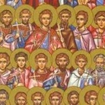 Sfintii 42 de Mucenici din Amoreea; Aflarea Sfintei Cruci (Sambata mortilor – mosii de iarna)