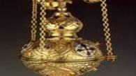 Cădelnițasaucățuia,tămâierulsautămâietoareaeste un mic recipient de metal, legat de lănțișoare care se unesc sus într-un mâner, de obicei, cu două belciuge, prin care se bagă degetul mare și cel arătător […]