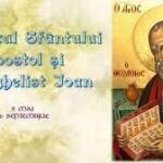 Acatistul Sfântului Apostol şi Evanghelist Ioan – text si audio (26 Septembrie)